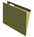 Storage of archival documents. Envelope for storage of archival documents. Vector illustration Stock Photo