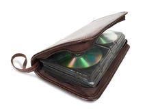 Storage bag for CD Stock Photo