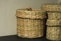 Storage baskets Royalty Free Stock Photo