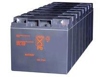 Storage batteries Stock Image