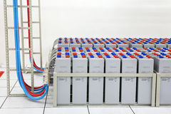 The storage battery Stock Image