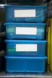 Storage Bins Royalty Free Stock Images