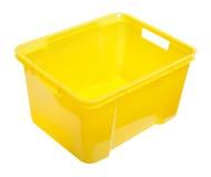 Storage box. On a white bg Royalty Free Stock Images