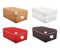 Storage Box Set Stock Image