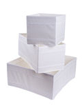 Storage boxes Stock Photography