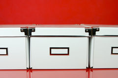 Storage Boxes royalty free stock photography
