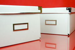 Storage Boxes Royalty Free Stock Photo