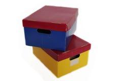 Storage boxes Royalty Free Stock Photo