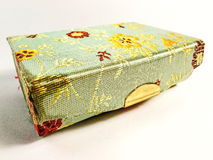 Storage boxes made ​​of Japanese silk Royalty Free Stock Image
