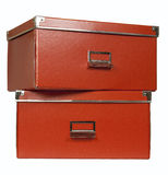 Storage cases Royalty Free Stock Images