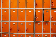 Storage cells in the store royalty free stock photos