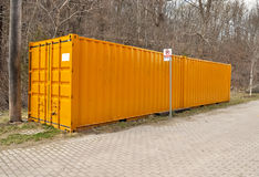 Storage container Royalty Free Stock Photography