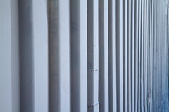 Storage container perspective Royalty Free Stock Photo