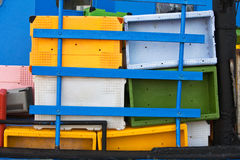 Storage containers Stock Photography