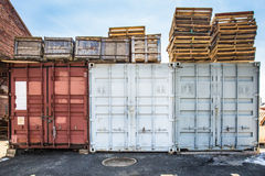 Storage Containers Royalty Free Stock Image