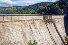 Storage dam Stock Photo