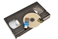 Storage devices stock image