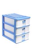 Storage Drawers. On White Background Stock Image