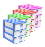 Storage Drawers Royalty Free Stock Photos