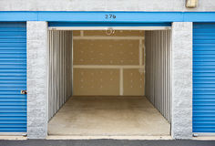 Storage: Empty Storage Unit Stock Photos
