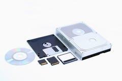 Storage evolution 2 Royalty Free Stock Photography