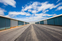 Storage facility Royalty Free Stock Photos