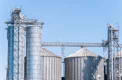 Storage facility cereals, and biogas production Stock Images