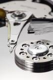 Storage and Fiber Optics Macro Vertical Closeup royalty free stock images