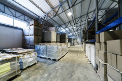 A storage of goods Stock Images