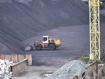 Storage hard coal Royalty Free Stock Images