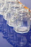 Storage jars Stock Images
