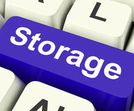 Storage Key Means storage Unit Or Storeroom Stock Photos