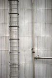 Storage with ladder Royalty Free Stock Photo