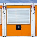 Storage locker Royalty Free Stock Photo