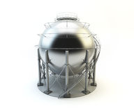 Storage LPG Tank isolated Royalty Free Stock Photos