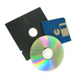 Storage Media. An Assortment of Storage Media stock images