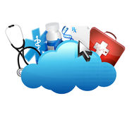 Storage medical concept Stock Photo