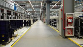 The storage of the modern plant Stock Photo