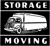 Storage Moving Stock Photography