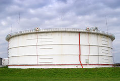 Storage oil reservoir Stock Photo