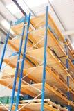 Storage racks Royalty Free Stock Photos
