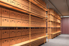 Storage Room Stock Image