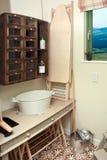 Storage room interior Stock Image