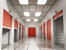 Storage rooms Royalty Free Stock Images