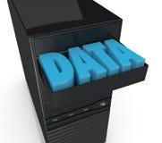 Storage server Stock Photography