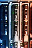 Storage servers in data room Domestic Room stock image