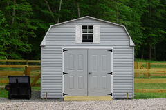 Storage shed Royalty Free Stock Photography