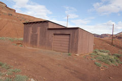 Storage Shed in Red Rock Country Stock Images