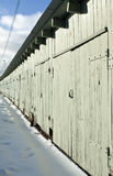 Storage sheds Stock Photo