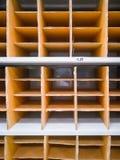 Storage shelf royalty free stock image